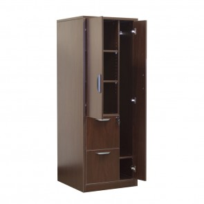 Ultra Wardrobe & 2 Drawer File Cabinet OFD-207