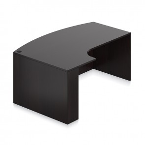"OTG 72"" Bow Top Desk Shell with Left Corner Extended SL7148BCL"