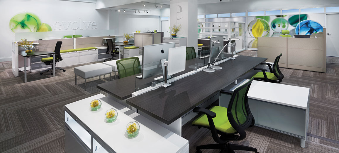 Global Evolve Office Cubicles & Workstations & Systems